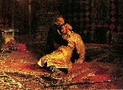 Ilya Repin Ivan the Terrible and his son Ivan on Friday, November 16 oil painting picture wholesale