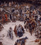 James Tissot What Our Saviour Saw from the Cross oil painting picture wholesale