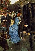 James Tissot The Bridesmaid, oil painting picture wholesale