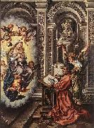 Jan Mabuse St Luke Painting the Madonna by Jan Mabuse oil painting picture wholesale