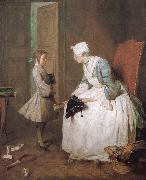 Jean Baptiste Simeon Chardin Home teachers oil painting picture wholesale