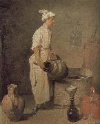 Jean Baptiste Simeon Chardin In the cellar of the boys to clean jar oil painting picture wholesale