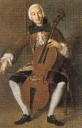 Johann Wolfgang von Goethe who worked in vienna and madrid. he was a fine cellist oil painting picture wholesale