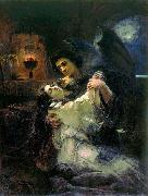 Konstantin Makovsky Tamara and Demon oil painting picture wholesale