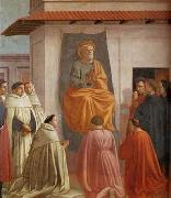 MASACCIO Fresco in the Brancacci Chapel in Santa Maria del Carmine, Florence oil painting picture wholesale