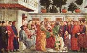 MASACCIO Resurrection of the Son of Theophilus oil painting picture wholesale