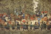 Maurice Prendergast Central Park, oil painting picture wholesale