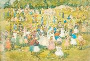 Maurice Prendergast May Day Central Park oil painting picture wholesale