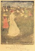 Maurice Prendergast The Breezy Common oil painting picture wholesale