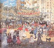 Maurice Prendergast Madison Square oil painting picture wholesale