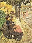 Maurice Prendergast The Tuileries Gardens oil painting picture wholesale