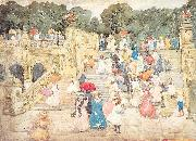 Maurice Prendergast The Mall Central Park oil painting picture wholesale