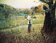 Mikhail Nesterov The Vision of the Youth Bartholomew oil painting picture wholesale