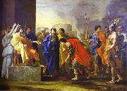 Nicolas Poussin The Continence of Scipio, oil painting picture wholesale