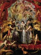 Peter Paul Rubens The Exchange of Princesses oil painting picture wholesale