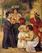 Pierre-Auguste Renoir The Artist Family, oil painting picture wholesale