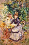 Pierre-Auguste Renoir In the Garden, oil painting picture wholesale