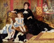 Pierre-Auguste Renoir Mme. Charpentier and her children oil painting picture wholesale