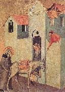Pietro Lorenzetti Saint Humility Transports Bricks to the Monastery oil painting picture wholesale