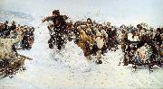 Vasily Surikov Storm of Snow Fortress oil painting picture wholesale