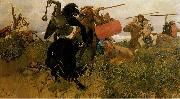 Viktor Vasnetsov Fight of Scythians and Slavs oil painting reproduction