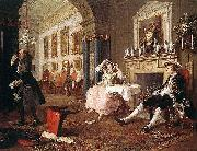William Hogarth Marriage oil painting picture wholesale