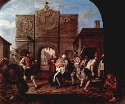 William Hogarth The Gate of Calais oil painting picture wholesale