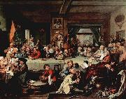 William Hogarth An Election Entertainment featuring oil painting picture wholesale