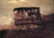 Winslow Homer Hakusan carriage and Streams oil painting reproduction