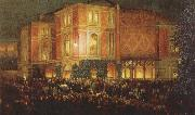 arthur o shaughnessy outide the bayreuth festspielhaus oil painting picture wholesale