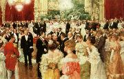 ignaz moscheles the dance music of the strauss family was the staple fare for such occasions oil painting picture wholesale