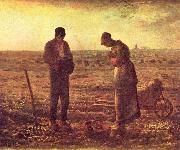 jean-francois millet The Angelus, oil painting picture wholesale