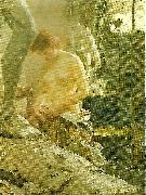 Anders Zorn i wikstroms atelje oil painting reproduction