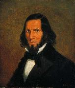Cornelius Krieghoff Self-portrait by Cornelius Krieghoff, oil painting