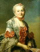 Alexander Roslin mme charlotte suzanne d'holbach oil