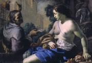 Bernardino Mei David and Bathsheba oil painting