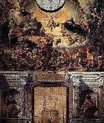 Dirck Barendsz Last Judgment oil