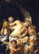 Francesco Trevisani Dead Christ Supported by Angels oil painting artist