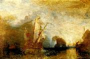 J.M.W.Turner ulysses deriding polyphemus-homer's odyssey oil painting reproduction