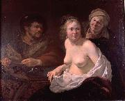 Jan Gerritsz. van Bronckhorst The procuress.. oil