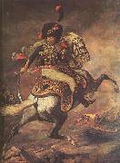 Jean Louis Voille Charging Chasseur by Theodore Gericault oil painting artist