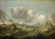 Adam Willaerts The painting Stormy Sea oil painting