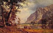 Albert Bierdstadt Yosemite Valley oil painting reproduction