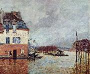 Alfred Sisley L inondation Port Marly oil painting reproduction