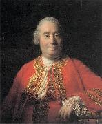 Allan Ramsay Portrait of David Hume (1711-1776), Historian and Philosopher oil