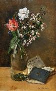 Anna Munthe-Norstedt Still Life with Spring Flowers oil painting