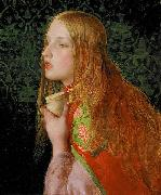 Anthony Frederick Augustus Sandys Mary Magdalene oil painting artist