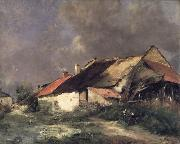 Antoine Vollon After the Storm oil painting