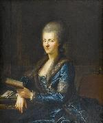 Anton Graff Portrait of Elisabeth Sulzer oil