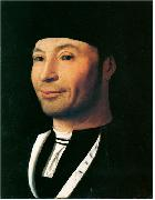 Antonello da Messina Portrait of a Man oil